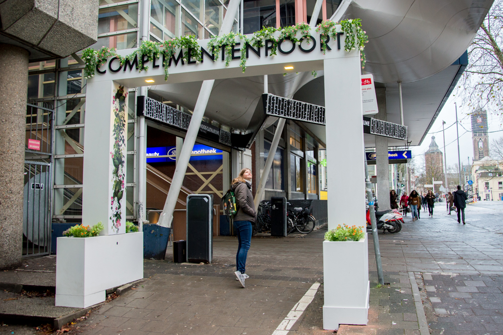 Project utrechtse complimentenpoort van de green business for Cafe de poort utrecht